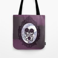 lucas david Tote Bags featuring Lucas by Gaab D'Amato