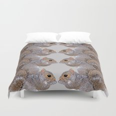 Squirrel Whispers Duvet Cover