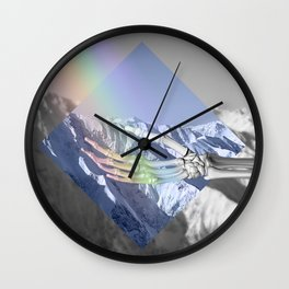 Catching Rainbows Wall Clock