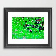 HARMONY IN GREEN Framed Art Print