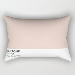 Pale Dogwood Pantone Rectangular Pillow