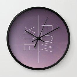 Flux & Flow Wall Clock