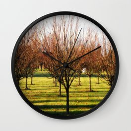 Get In Formation : TreeS Wall Clock