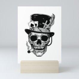 Baron Samedi Skull Mini Art Print