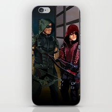 Arrowverse iPhone Skin