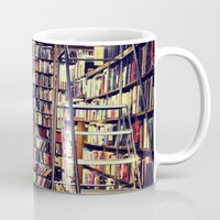 books Mugs featuring Books by Whitney Retter