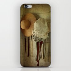 Wherever you hang your Hat iPhone & iPod Skin