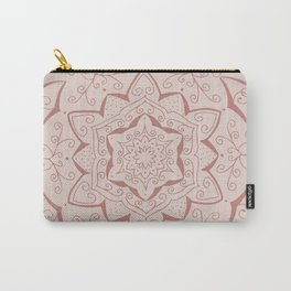 Jin Pink Mandala Carry-All Pouch