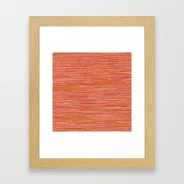 Series 7 - Tangerine Framed Art Print