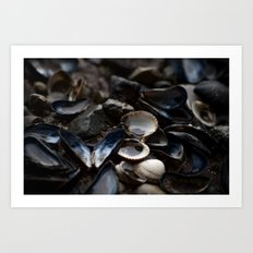 cockles & mussels Art Print