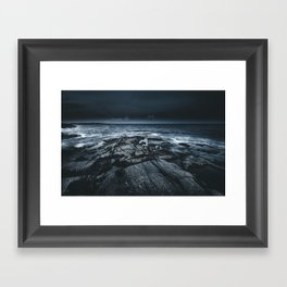 Courted by sirens Framed Art Print
