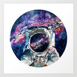 Spaceman. Art Print