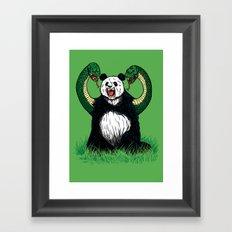 PANDAVIPERARMS Framed Art Print