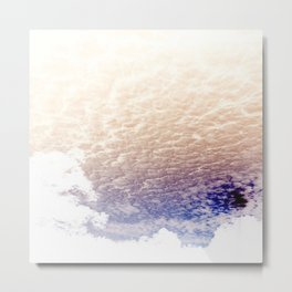 Froth Above Metal Print