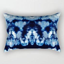 Tie-Dye Shibori Neue Rectangular Pillow