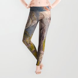 "William Blake ""Melancholy"" Leggings"