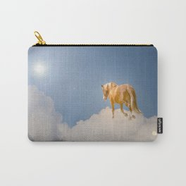 Walking on clouds over the blue sky Carry-All Pouch