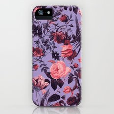 Romantic Floral Pattern Slim Case iPhone (5, 5s)
