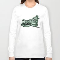 converse Long Sleeve T-shirts featuring Converse Bite  by Marisa