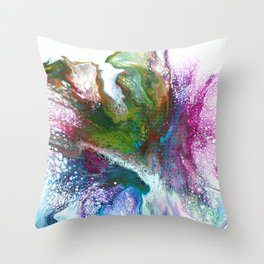 Champagne Celebration Throw Pillow