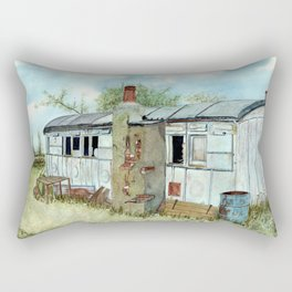 Farm Outbuilding with a Difference. Rectangular Pillow