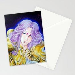 Aries knight Mu, by Suki Manga Art Stationery Cards
