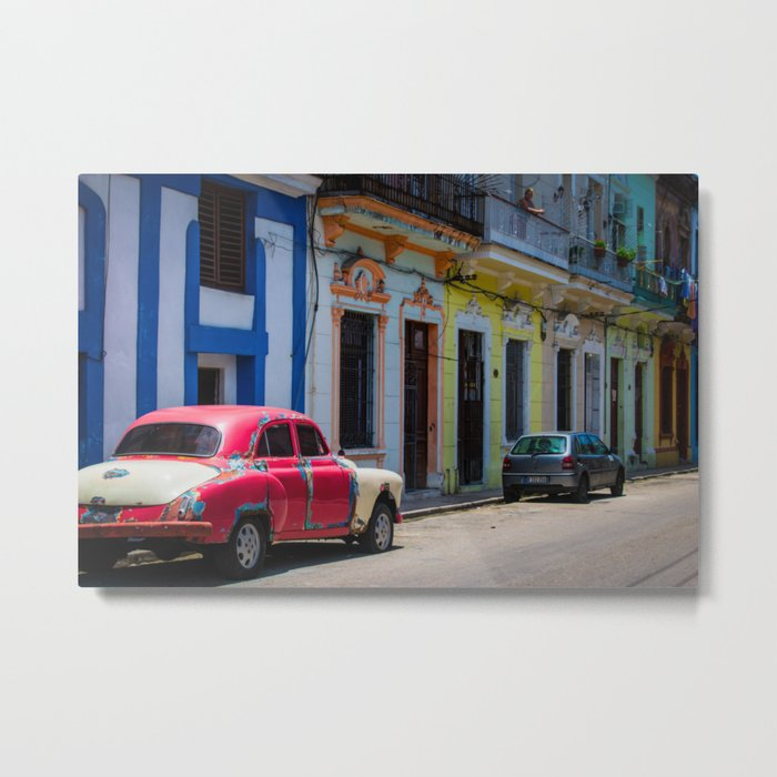 Colors of the Rainbow Metal Print