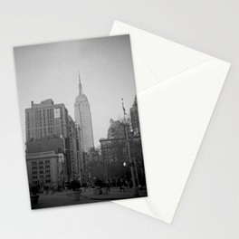 The Empire State Building and Madison Square Park Stationery Cards