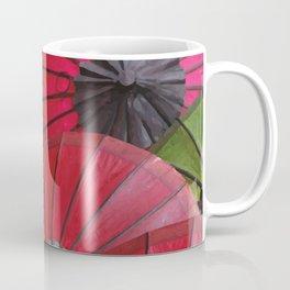 Paper Colored Umbrellas from Laos Coffee Mug
