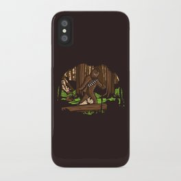 The Bigfoot of Endor iPhone Case