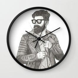Smoking is Cool Wall Clock