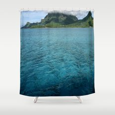 BoraBora, Queen of the Society Islands Shower Curtain