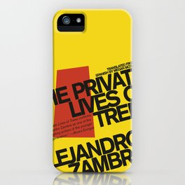 The Private Lives of Trees iPhone Case
