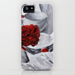 The Scent of Rose iPhone Case