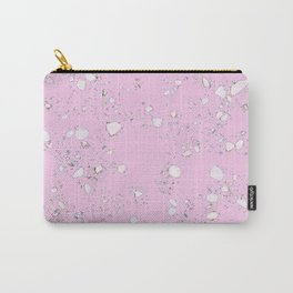 Terrazzo: Pink Carry-All Pouch