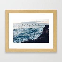 Ocean Escape Framed Art Print
