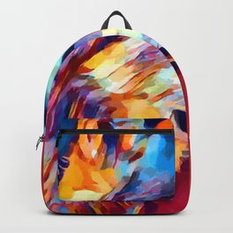 Wolf Portrait 2 Backpack