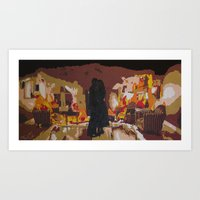john mayer Art Prints featuring Slow Dancing in a Burning Room - John Mayer by Max Freund