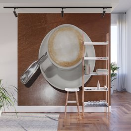 Rise and Shine Cafe con Leche Coffee! Wall Mural