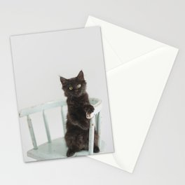 Meatball on the chair Stationery Cards