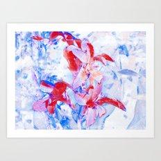 FlowerPower Fantasy 5-A Art Print