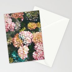 Hydrangea Pattern III Stationery Cards