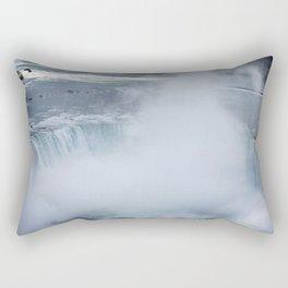 Fog in the Falls Rectangular Pillow