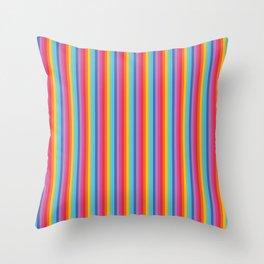 Unicorn Stripe Throw Pillow