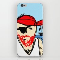 pirate ship iPhone & iPod Skins featuring Pirate by Rimadi