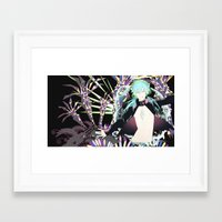 dmmd Framed Art Prints featuring Drive into DMMd by chibishi