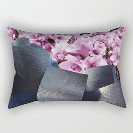 Flower Clouds Rectangular Pillow