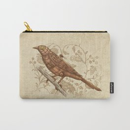 Steampunk Songbird  Carry-All Pouch