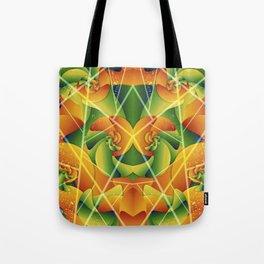Summer Spiral Tote Bag