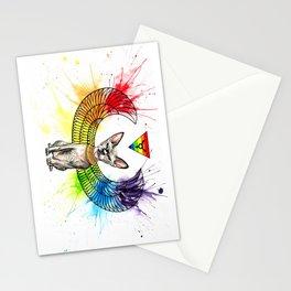 Shai Family Cattery Logo Stationery Cards